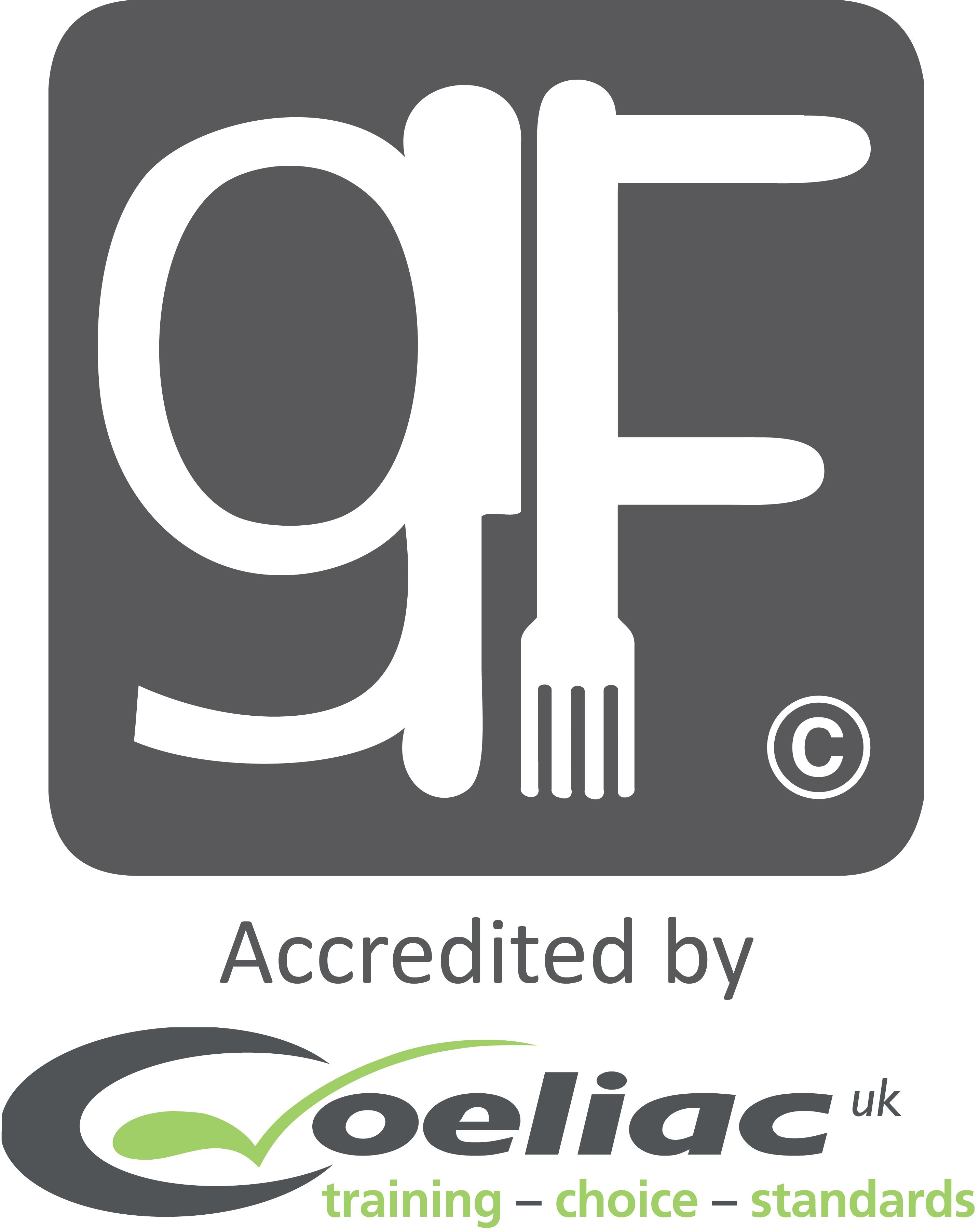GF logo accredited by