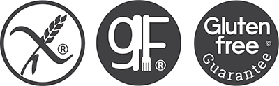 Gf, GfG, Crossed Grain logos