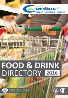Coeliac UK Food and Drink Directory