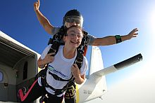 Skydive 2015 - Fundraiser Amy