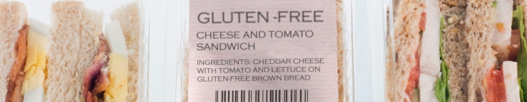 The law on gluten-free food