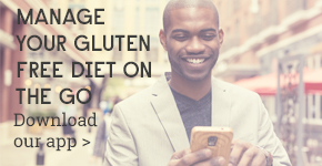 Gluten-free on the Move mobile app