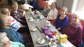 Exeter and east devon coeliac group coffee morning march 2017