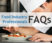 Food Industry Professionals FAQs