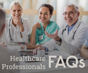 Healthcare professional FAQs