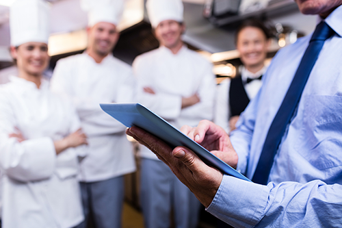 Training for caterers
