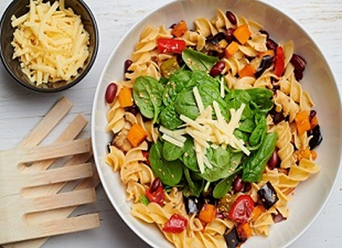 Roasted Vegetable and Pasta Salad