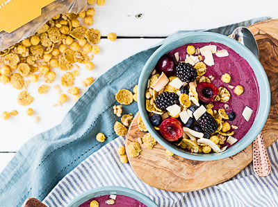 Natures Path Smoothie Bowl