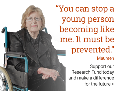 Make a difference for the future and support our research fund