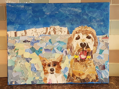 Alison Palmer-Harvey art competition entry