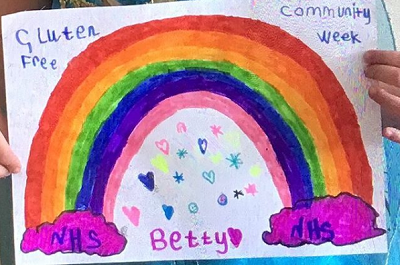 Betty art competition entry