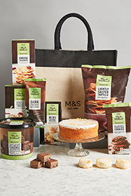 M&S hamper