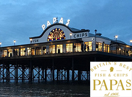 Papa's Fish and Chips - Cleethorpes - web image