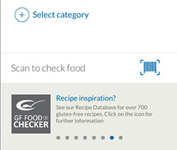 GF Food Checker scanner