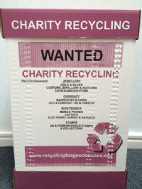 Recycling For Good Causes - Recycle Box
