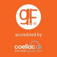 Caterers and Restaurateurs GF Accreditation Sticker